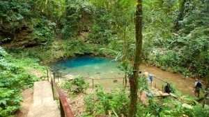 The Inland Blue Hole